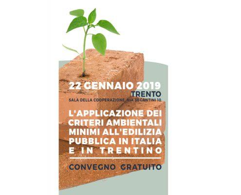 """Appalti """"verdi"""" nell'edilizia pubblica: nuovo appuntamento a Trento"""
